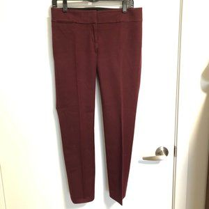 LOFT Maroon Dress Pants EUC